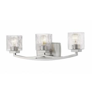 Zaid - 3 Light Bath Vanity in Metropolitan Style - 24 Inches Wide by 7.75 Inches High