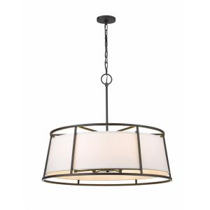 Lenyx - 8 Light Pendant in Urban Style - 32 Inches Wide by 27.5 Inches High