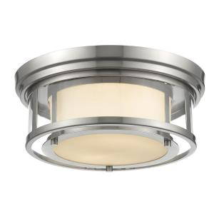 Luna - 2 Light Flush Mount