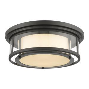 Luna - 3 Light Flush Mount