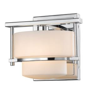 Porter - 1 Light Wall Sconce in Art Moderne Style - 5.5 Inches Wide by 6.25 Inches High
