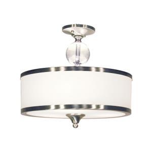 Cosmopolitan - 3 Light Semi-Flush Mount