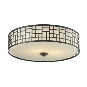 Elea - 3 Light Flush Mount