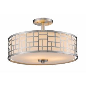 Elea - Three Light Semi-Flush Mount