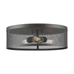 Meshsmith - 18 Inch Three Light Flush Mount