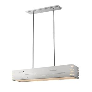 Loek - 26W 1 LED Chandelier in Industrial Style - 34 Inches Wide by 5.25 Inches High