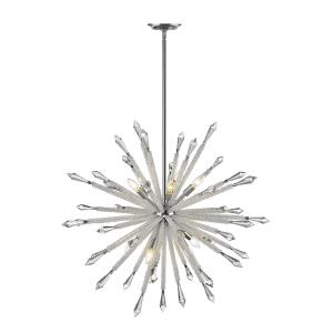 Soleia Chandelier 10 Light  Iron/Crystal