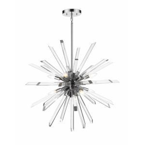 Burst - 8 Light Chandelier
