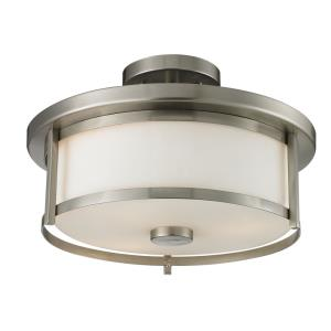 Savannah - Two Light Semi-Flush Mount