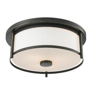 Savannah - 2 Light Flush Mount
