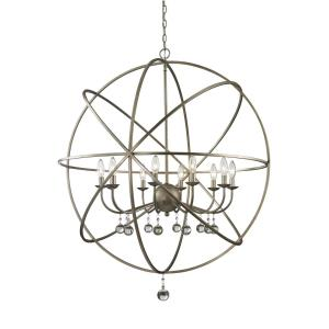 Acadia - 10 Light Pendant in Whimsical Style - 36 Inches Wide by 41.5 Inches High