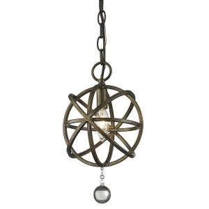 Acadia - 1 Light Mini Pendant in Whimsical Style - 8 Inches Wide by 13.13 Inches High