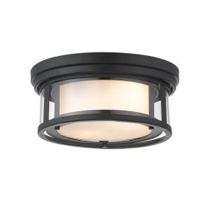 Willow - 2 Light Flush Mount