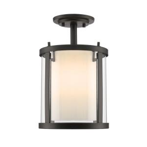 Willow - 3 Light Semi-Flush Mount