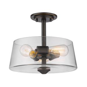 Annora - 3 Light Semi-Flush Mount