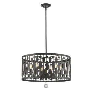 Almet - 6 Light Pendant in Metropolitan Style - 24 Inches Wide by 16.5 Inches High