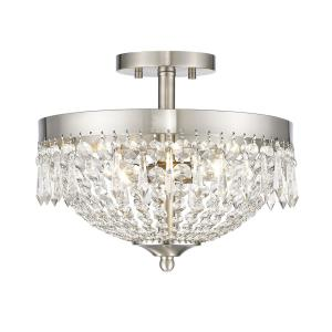 Danza - 3 Light Semi-Flush Mount