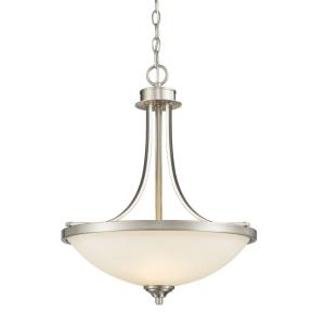 Bordeaux - 3 Light Pendant in Metropolitan Style - 17.13 Inches Wide by 21 Inches High