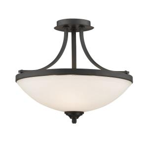 Bordeaux - 3 Light Semi-Flush Mount