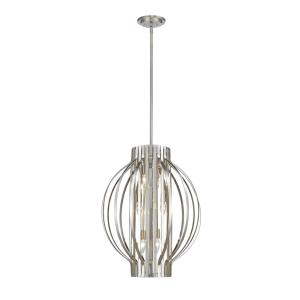 Moundou - 6 Light Pendant in Metropolitan Style - 20 Inches Wide by 26 Inches High