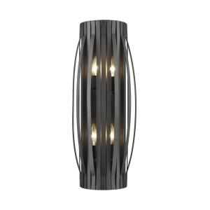 Moundou - 4 Light Wall Sconce in Utilitarian Style - 10.25 Inches Wide by 24 Inches High