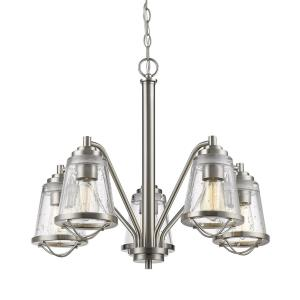 Mariner - 5 Light Chandelier in Contemporary Style - 24.63 Inches Wide by 24.5 Inches High