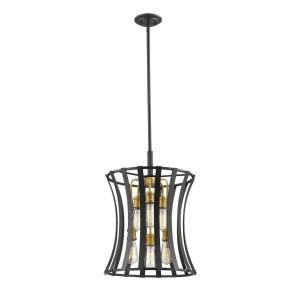 Geist - 6 Light Pendant in Transitional Style - 16 Inches Wide by 23 Inches High