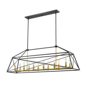 Trestle - 12 Light Pendant