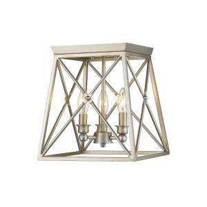 Trestle - 3 Light Flush Mount