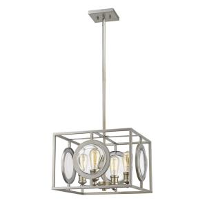 Port - 4 Light Pendant in Coastal Style - 17.75 Inches Wide by 11 Inches High