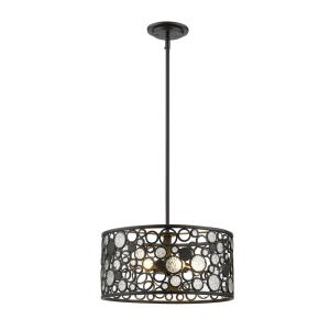 Ariell - 5 Light Pendant in Coastal Style - 16 Inches Wide by 8 Inches High