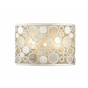 Ariell - 2 Light Wall Sconce in Industrial Style - 8 Inches Wide by 12 Inches High