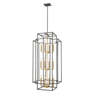Titania - 12 Light Pendant in Transitional Style - 20 Inches Wide by 42 Inches High