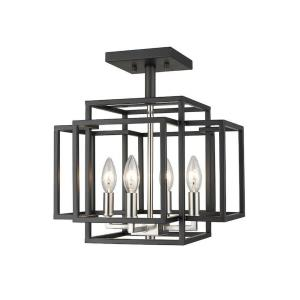 Titania - Four Light Semi-Flush Mount