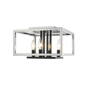 Quadra - 4 Light Flush Mount