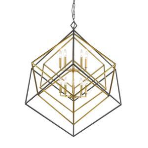 Euclid - 10 Light Chandelier