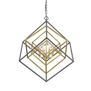 Euclid - 4 Light Chandelier