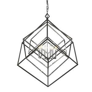 Euclid - 6 Light Chandelier