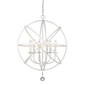 Tull - 6 Light Chandelier in Transitional Style - 24 Inches Wide by 29.63 Inches High