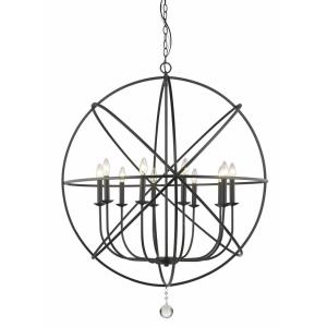 Tull - 10 Light Chandelier in Shabby Chic Style - 36 Inches Wide by 41.63 Inches High