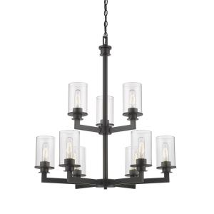 Savannah - Nine Light 2-Tier Chandelier