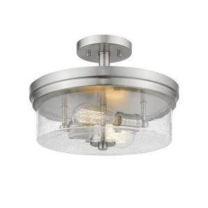 Bohin - Two Light Semi-Flush Mount