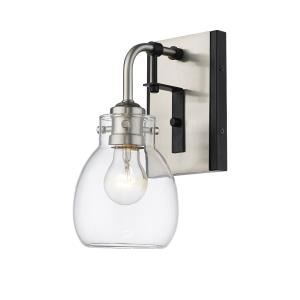 Kraken - 1 Light Wall Sconce in Industrial Style - 5.25 Inches Wide by 11.25 Inches High