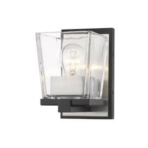 Bleeker Street - 1 Light Wall Sconce in Restoration Style - 5 Inches Wide by 7.5 Inches High