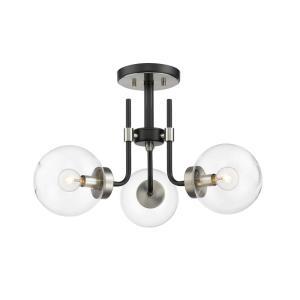 Parsons - 3 Light Semi-Flush Mount
