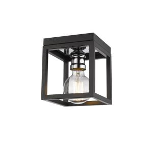 Kube - 1 Light Flush Mount in Restoration Style - 5.75 Inches Wide by 5.75 Inches High
