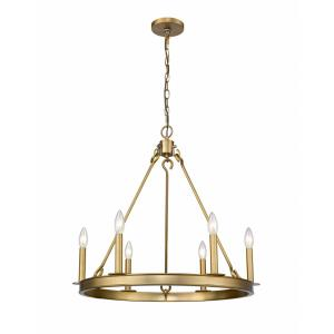 Barclay - 6 Light Chandelier