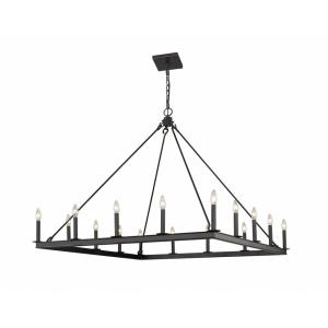 Barclay - 16 Light Chandelier