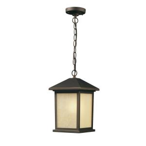 Holbrook - 1 Light Outdoor Chain Mount Lantern in Urban Style - 9.5 Inches Wide by 15.25 Inches High