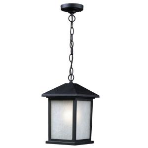 Holbrook - 1 Light Outdoor Chain Mount Lantern in Urban Style - 8 Inches Wide by 13.5 Inches High